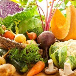 Frutta e verdura autunnale